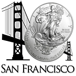 Silver American Eagles (San Francisco Mint)